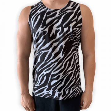 Regata Animal Print Masculina
